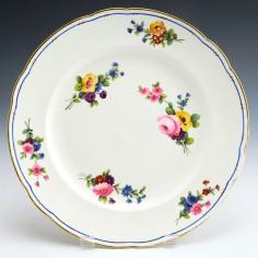 A Nantgarw Porcelain Plate c1820