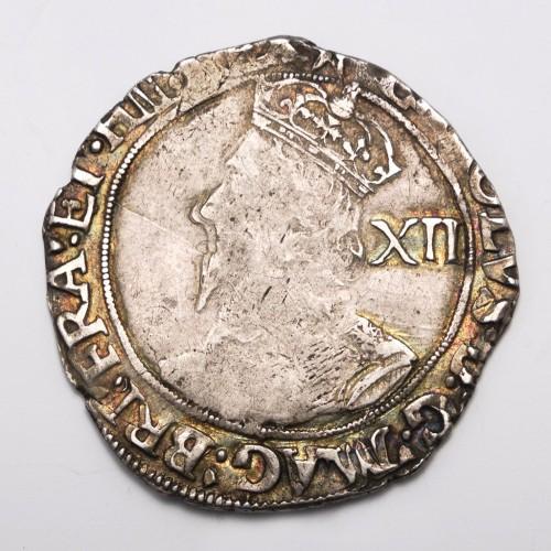 Charles I Hammered Silver Shilling 1640/1