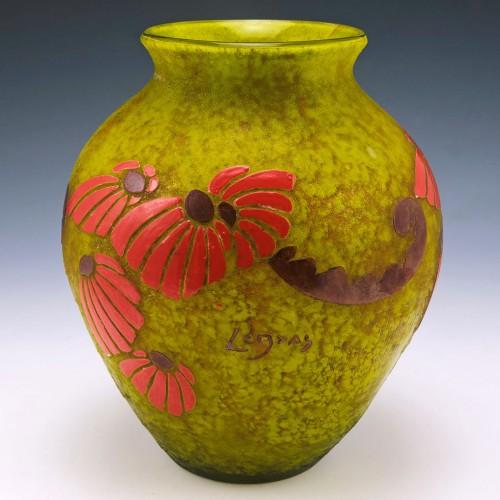 A Fine Legras Cameo Vase c1925