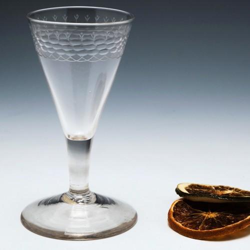 Georgian Gin Glass c1770