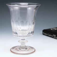 A Very Large Bucket Bowl 19th Century Glass Rummer c1850