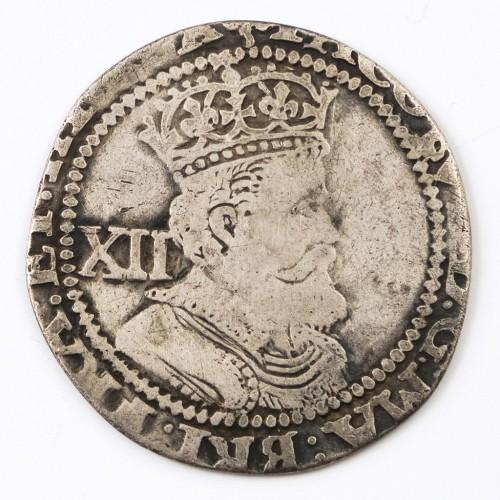 James I England and Ireland ( VI Scotland) Hammered Silver Shilling 1603-1625