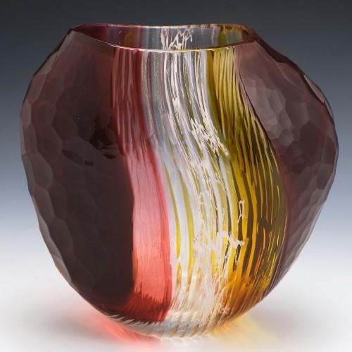 Phil Atrill RCA Glass Vase