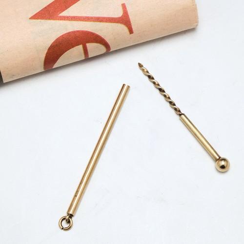 9ct Gold Cigar Piercer Drill