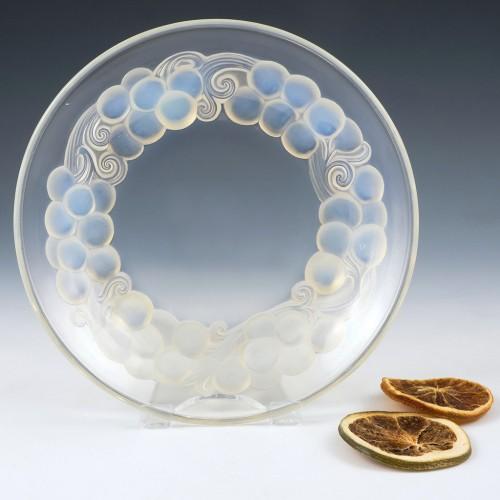 Rene Lalique Marienthal Assiette A Glace Designed 1931