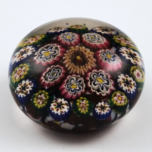 A Thuringian Glass Paperweight c1890