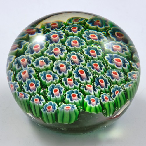 A Chinese Millefiori Paperweight c1970