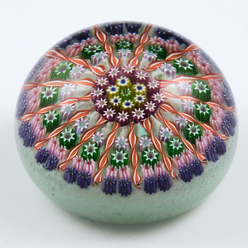 A Large Perthshire PP1 Fifteen Radial Paperweight Pre 1978