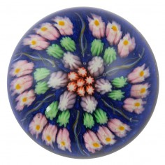 A Large Vasart Strathearn Paperweight by the Ysart Brothers