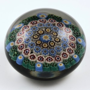 Ysart Bros Concentric Millefiori Paperweight