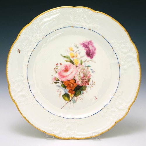 Nantgarw CW Porcelain Plate c1820