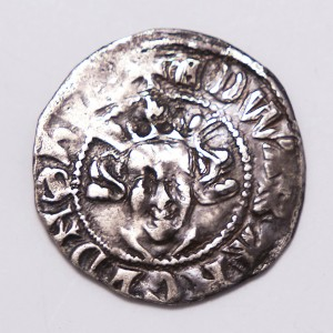 Edward II Hammered Silver Penny Canterbury Mint 1307-1327