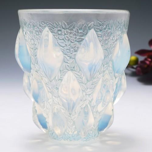 Rene Lalique Rampillon Vase Designed 1927