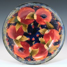 A William Moorcroft Pottery Dish c1920