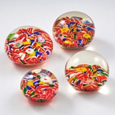 Four Chinese Scramble Paperweights c1930 Was £40