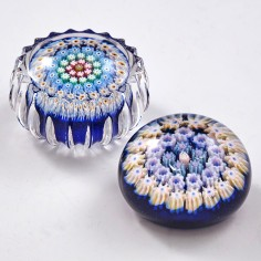 Two Scottish Paperweights by Perthshire and Strathearn