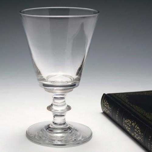 A Victorian Glass Rummer c1860