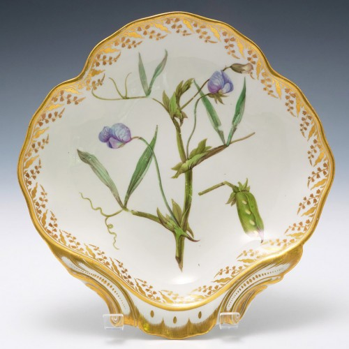 Botanical Derby Porcelain Dish c1795