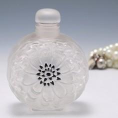 Lalique Dahlia Perfume Bottle Flacon No4 Designed 1931
