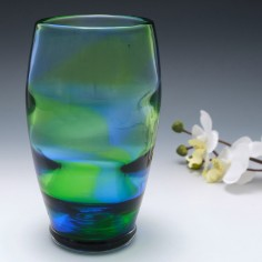 Stevens and Williams Rainbow Glass Vase 1935-40