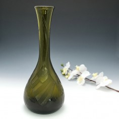 A Tall Signed Legras Art Deco Vase c1930
