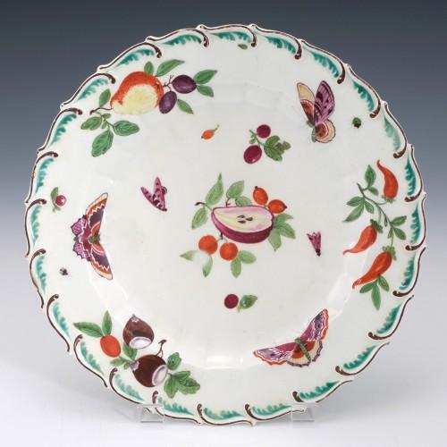 A Chelsea Porcelain Dessert Plate 1758-69