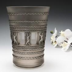Rene Lalique Vase Florence Marcilhac  10-907 Designed 1937