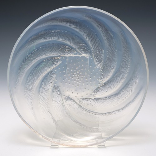 Rene Lalique Poissons Coupe Plate No2 Designed 1931