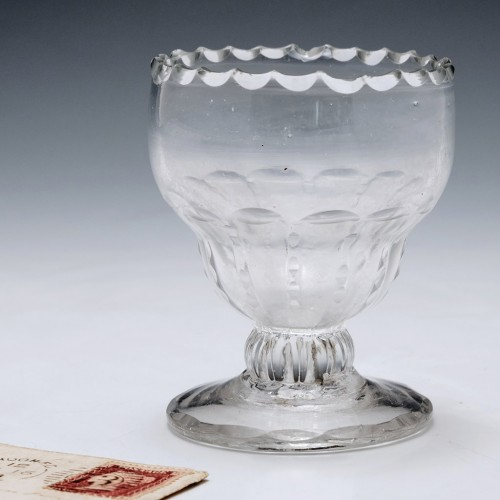 Georgian Bonnett Glass c1760