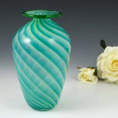Murano Glass Vase With Incalmo Rim c1960