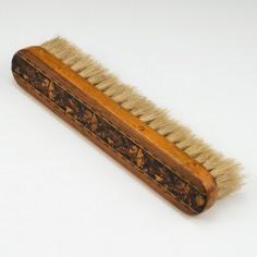 Tunbridge Ware Clothes Brush c1900