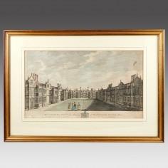 Richard Bernard Godfrey (1728 - 1795): Sisinherst Kent - The Property Of Sir Horace Mann