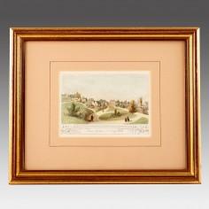 Mount Ephraim. Tonbridge Wells; Unattributed Hand-Coloured Print c 1820