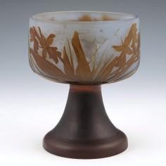 Galle Chalice Shape Vase c1910