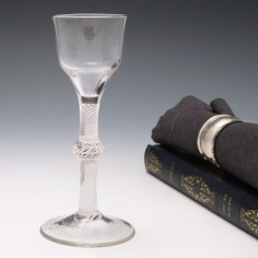 Multi Series Opaque Twist Wine Glass c1760
