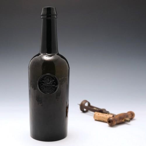 Wyndham Family Antique Sealed Wine Bottle c1833