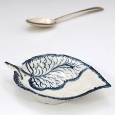 Rare Philip Christian's Liverpool Porcelain Leaf Dish c1765