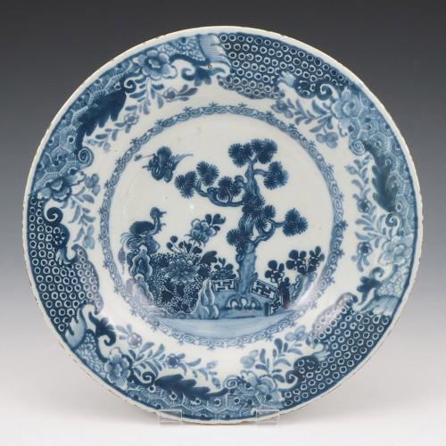 An Irish Delft Plate c1760