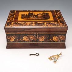 A Tunbridge Ware Box c1870