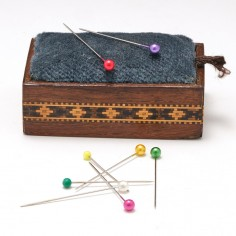 Tunbridge Ware Pin Cushion c1900