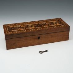 Thomas Barton Tunbridge Ware Glove Box c1870
