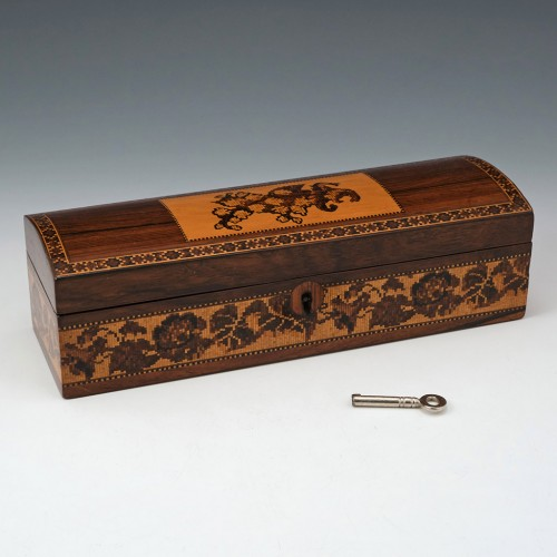 Tunbridge Ware Pen Box By c1870