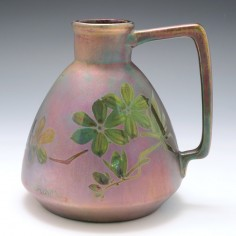 A Montieres Lustred Pottery Jug c1920