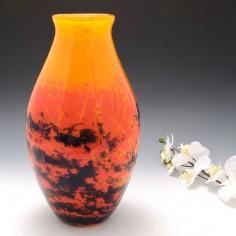 Very Large Verrerie D'Art Degue Vase c1930