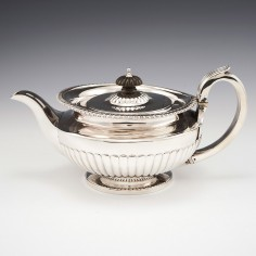 A Very Fine Sterling Silver Teapot London 1820