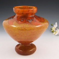 A Schneider Lydion Shape Vase c1925