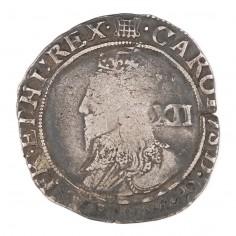 Charles I, Silver Shilling, Portcullis Mint Mark, 1633-34