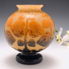 RESERVEE ALAIN- Schneider Le Verre Francais  Spherical Vase c1922