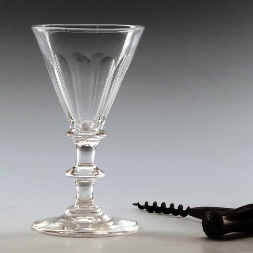 Regency Period Gin Glass c1820
