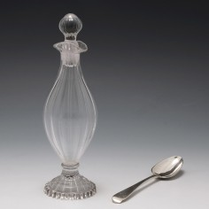 Georgian Fluted Condiment Bottle c1820